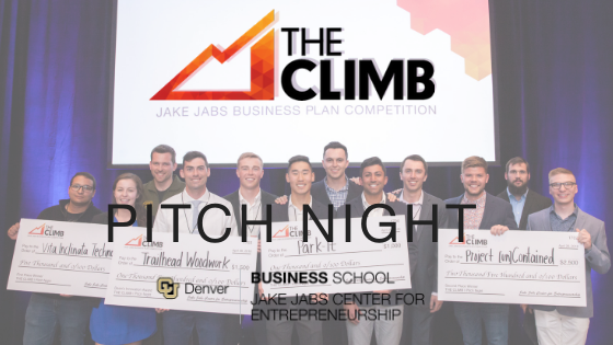 THE CLIMB Pitch Night