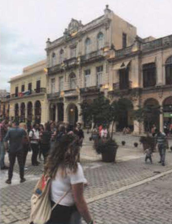 Stephanie Ortega in Cuba