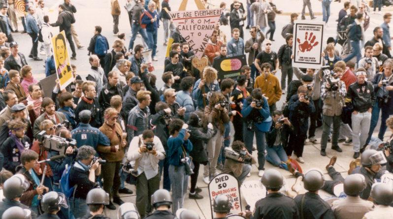 HIV Protest