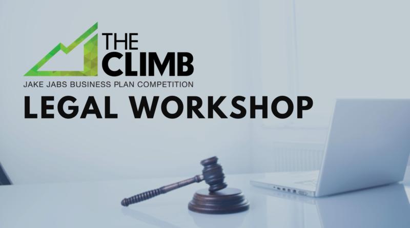 THE CLIMB 2021 Legal Workshop